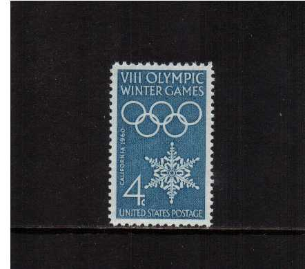 view larger image for  : SG Number 1145 / Scott Number 1146 (1960) - Winter Olympics