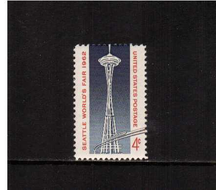view larger image for  : SG Number 1195 / Scott Number 1196 (1962) - Seattle World's Fair