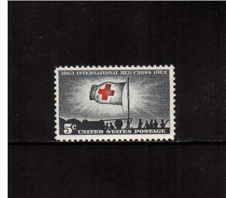 view larger image for  : SG Number 1221 / Scott Number 1239 (1963) - Int. Red Cross Centenary