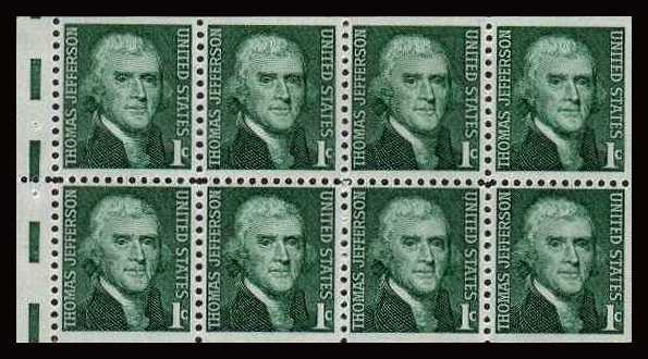 view larger image for  : SG Number 1259a / Scott Number 1278a (1965) - Thomas Jefferson<br/>