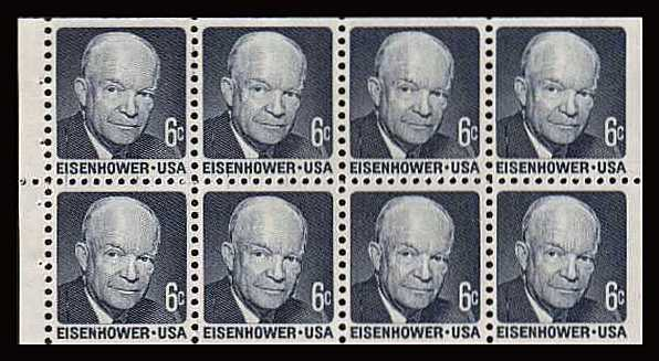 view larger image for  : SG Number - / Scott Number 1393ae (1970) - Eisenhower<br/>