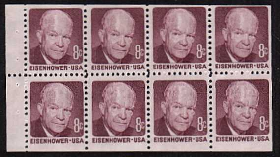 view larger image for  : SG Number 1385a / Scott Number 1395a (1971) - Eisenhower<br/>
