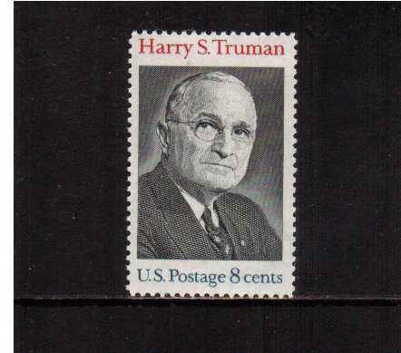 view larger image for  : SG Number 1500 / Scott Number 1499 (1973) - Harry S. Truman