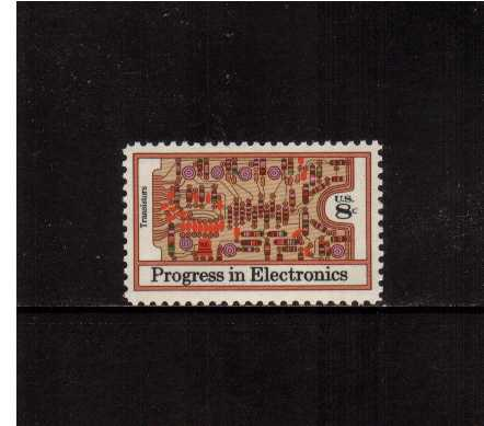 view larger image for  : SG Number 1506 / Scott Number 1501 (1973) - Electronics - Transistors