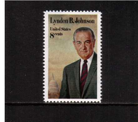 view larger image for  : SG Number 1509 / Scott Number 1503 (1973) - Lyndon B. Johnson