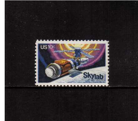 view larger image for Commemoratives 1974 - 1976 - Middle Period Commemoratives: SG Number 1527 / Scott Number 10c (1974) - Skylab