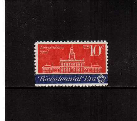 view larger image for Commemoratives 1974 - 1976 - Middle Period Commemoratives: SG Number 1544 / Scott Number 10c (1974) - Continental Congress - Independence Hall