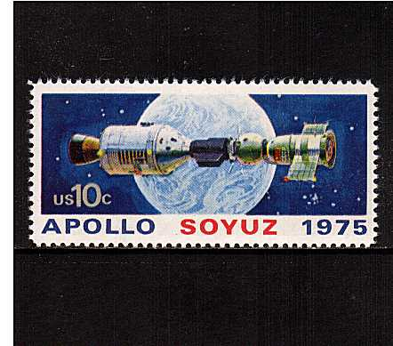 view larger image for  : SG Number 1567 / Scott Number 1569 (1975) - Apollo-Soyuz Space Issue<br/>  Docking