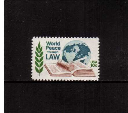 view larger image for  : SG Number 1575 / Scott Number 1576 (1975) - World Peace through Law