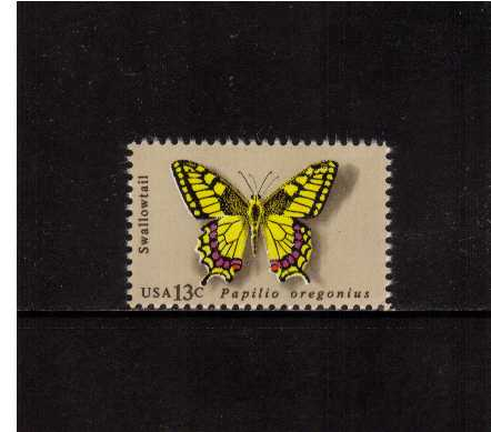 view larger image for Commemoratives 1977 - 1980 - Middle Period Commemoratives: SG Number 1688 / Scott Number 13c (1977) - Butterflies - Swallowtail