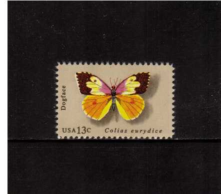 view larger image for Commemoratives 1977 - 1980 - Middle Period Commemoratives: SG Number 1690 / Scott Number 13c (1977) - Butterflies - Dogface