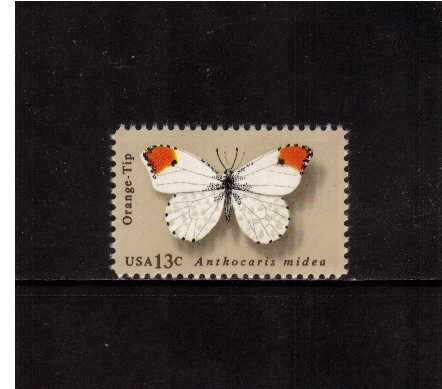 view larger image for Commemoratives 1977 - 1980 - Middle Period Commemoratives: SG Number 1691 / Scott Number 13c (1977) - Butterflies - Orange-Tip