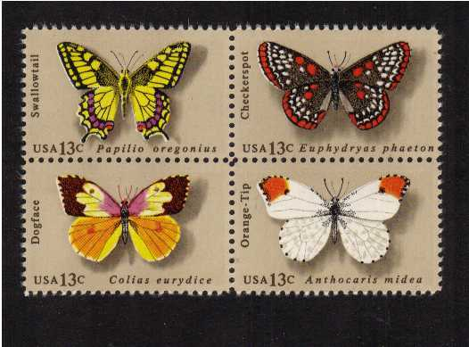 view larger image for Commemoratives 1977 - 1980 - Middle Period Commemoratives: SG Number 1691a / Scott Number 13c x4