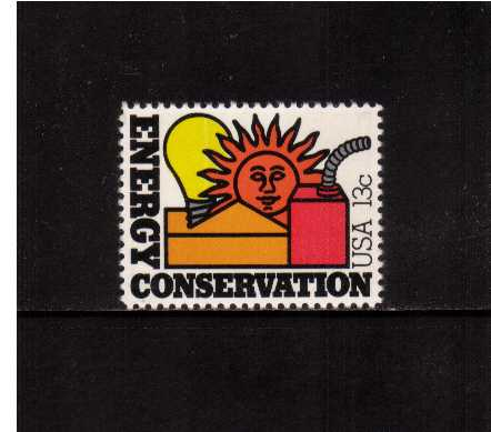 view larger image for Commemoratives 1977 - 1980 - Middle Period Commemoratives: SG Number 1703 / Scott Number 13c (1977) - Energy - Conservation