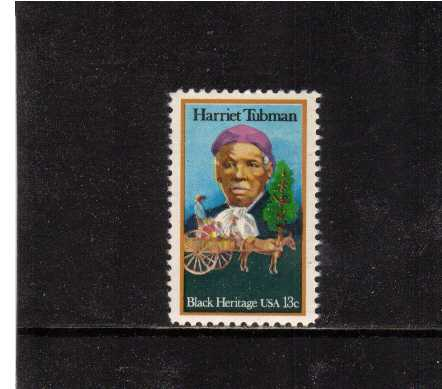 view larger image for Commemoratives 1977 - 1980 - Middle Period Commemoratives: SG Number 1711 / Scott Number 13c (1978) - Black Heritage Series - Harriet Tubman