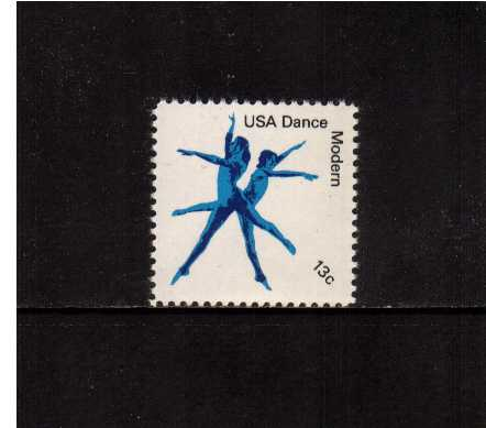 view larger image for Commemoratives 1977 - 1980 - Middle Period Commemoratives: SG Number 1719 / Scott Number 13c (1978) - Dance - Modern Dance