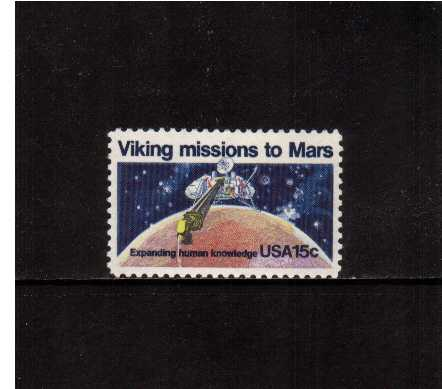 view larger image for  : SG Number 1730 / Scott Number 1759 (1978) - Viking Space Mission