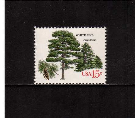view larger image for  : SG Number 1737 / Scott Number 1764 (1978) - Trees - White Pine