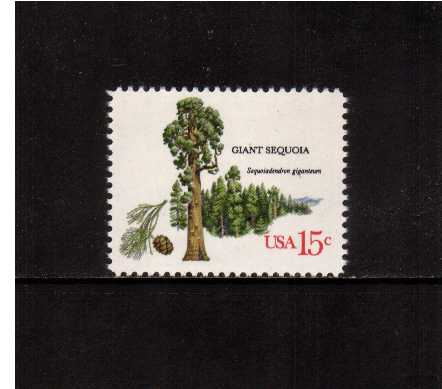 view larger image for  : SG Number 1738 / Scott Number 1765 (1978) - Trees - Giant Sequoia