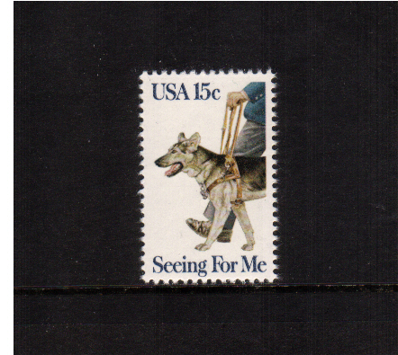 view larger image for  : SG Number 1762 / Scott Number 1787 (1979) - Seeing Eye Dog