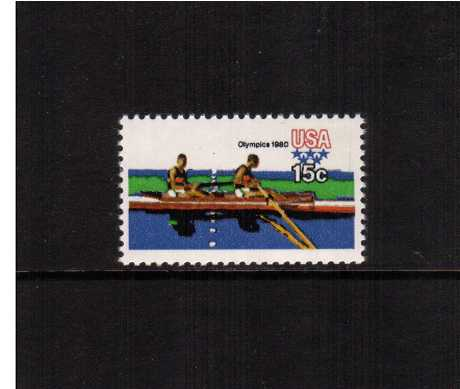 view larger image for  : SG Number 1767 / Scott Number 1793 (1979) - Summer Olympics - Rowing
