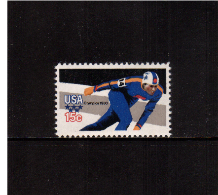 view larger image for  : SG Number 1778 / Scott Number 1795 (1979) - Winter Olympics - Speed Skating