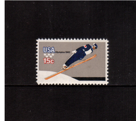 view larger image for  : SG Number 1780 / Scott Number 1797 (1979) - Winter Olympics - Ski Jumping