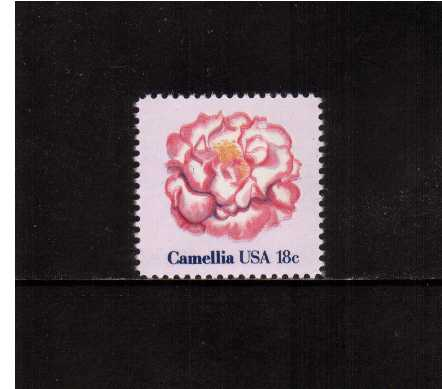 view larger image for Commemoratives 1981 - 1982 - Middle Period Commemoratives: SG Number 1847 / Scott Number 18c (1981) - Flowers - Camellia