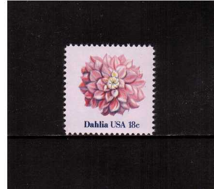 view larger image for Commemoratives 1981 - 1982 - Middle Period Commemoratives: SG Number 1848 / Scott Number 18c (1981) - Flowers - Dahlia