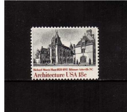 view larger image for Commemoratives 1981 - 1982 - Middle Period Commemoratives: SG Number 1903 / Scott Number 18c (1981) - Architecture - Biltmore House