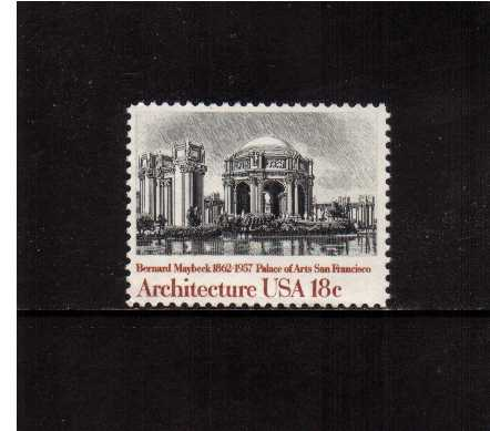 view larger image for Commemoratives 1981 - 1982 - Middle Period Commemoratives: SG Number 1904 / Scott Number 18c (1981) - Architecture - Palace of Arts