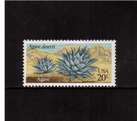 view larger image for Commemoratives 1981 - 1982 - Middle Period Commemoratives: SG Number 1920 / Scott Number 20c (1981) - Desert Plants - Agave