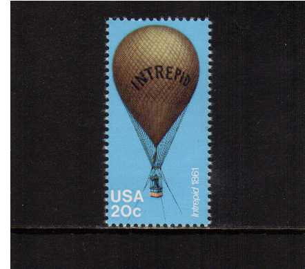 view larger image for Commemoratives 1983 - 1987 - Middle Period Commemoratives: SG Number 2017 / Scott Number 20c (1983) - Ballooning - Intrepid 1861