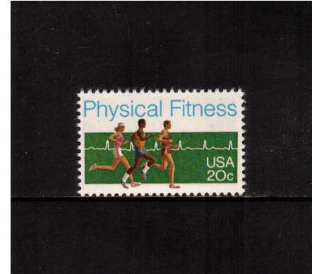 view larger image for Commemoratives 1983 - 1987 - Middle Period Commemoratives: SG Number 2029 / Scott Number 20c (1983) - Physical Fitness