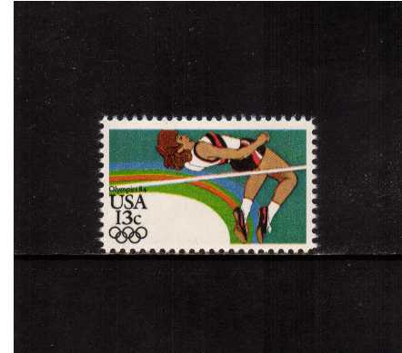 view larger image for Commemoratives 1983 - 1987 - Middle Period Commemoratives: SG Number 2041 / Scott Number 13c (1983) - Summer Olympics - High Jump