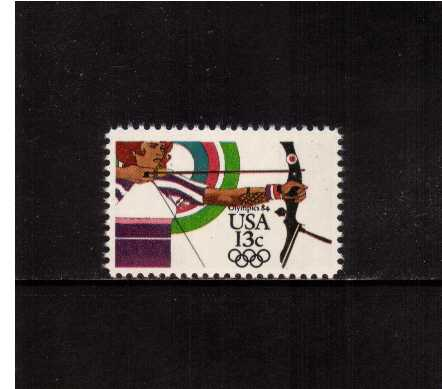 view larger image for Commemoratives 1983 - 1987 - Middle Period Commemoratives: SG Number 2042 / Scott Number 13c (1983) - Summer Olympics - Archery