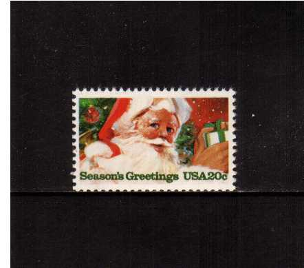 view larger image for Commemoratives 1983 - 1987 - Middle Period Commemoratives: SG Number 2057 / Scott Number 20c (1983) - Christmas - Santa Claus