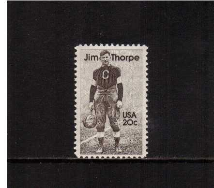 view larger image for  : SG Number 2086 / Scott Number 2089 (1984) - Jim Thorpe