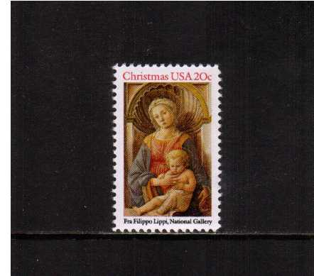 view larger image for  : SG Number 2103 / Scott Number 2107 (1984) - Christmas -  Madonna & Child