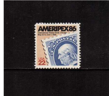 view larger image for  : SG Number 2187 / Scott Number 2145 (1985) - Ameripex Stamp Exhibition