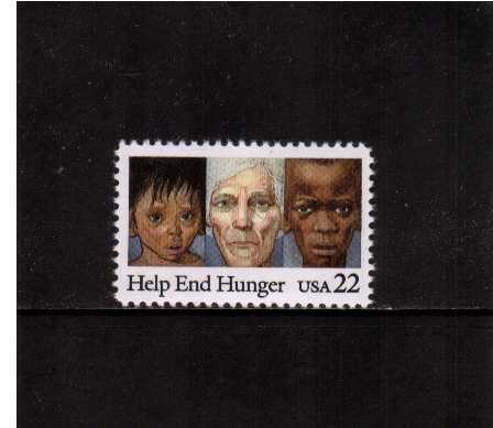 view larger image for  : SG Number 2203 / Scott Number 2164 (1985) - Help End Hunger