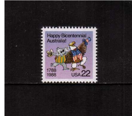 view larger image for  : SG Number 2332 / Scott Number 2370 (1988) - Australian Bicentenary