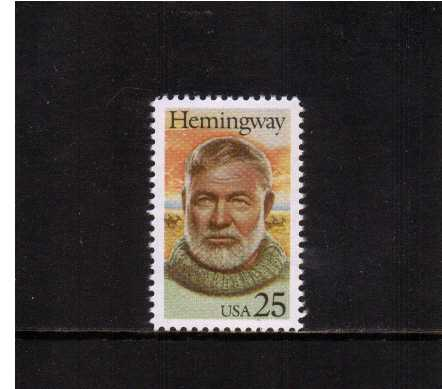 view larger image for  : SG Number 2402 / Scott Number 2418 (1989) - Ernest Hemingway