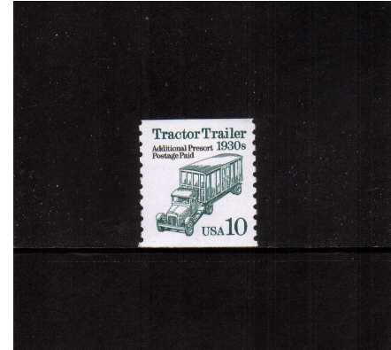 view larger image for  : SG Number 2488 / Scott Number 2458 (1994) - Tractor Trailer<br/>Photogravure - White Paper<br/>