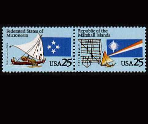 view larger image for  : SG Number 2541a / Scott Number 2507a (1990) - Micronesia and Marshall Islands<br/>
