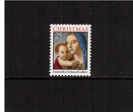 view larger image for  : SG Number 2549 / Scott Number 2514 (1990) - Christmas - Madonna and Child