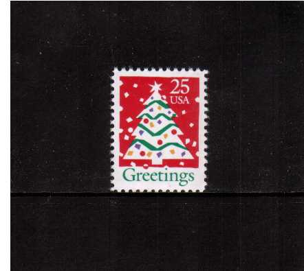 view larger image for  : SG Number 2551 / Scott Number 2515 (1990) - Christmas Tree <br/>
