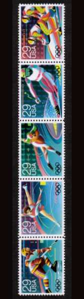 view larger image for  : SG Number 2649a / Scott Number 2615a (1992) - Winter Olympics<br/>