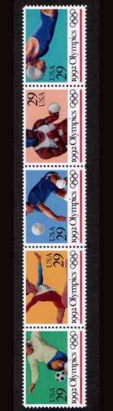 view larger image for  : SG Number 2671a / Scott Number 2641a (1992) - Summer Olympics<br/>