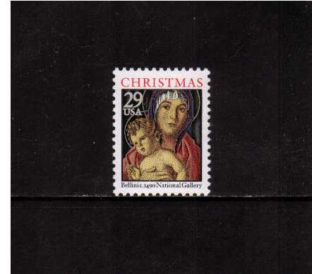 view larger image for  : SG Number 2757 / Scott Number 2710 (1992) - Christmas - Madonna and Child<br/>